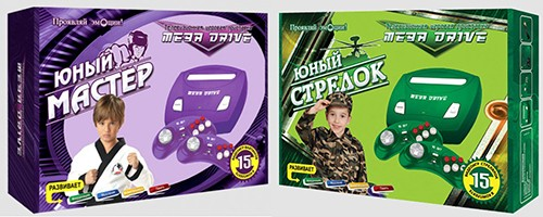 Игровая приставка к телевизору MegaDrive Young